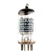 12AX7A  -  Browning Laboratories Twin Triode Amp ECC83 9-Pin Vintage Miniature Vacuum Tube NOS