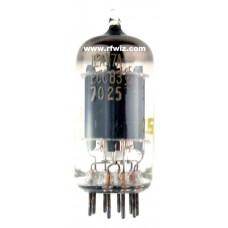12AX7A  -  SYLVANIA Twin Triode Amp ECC83 7025 9-Pin Vintage Miniature Vacuum Tube NOS w/Box