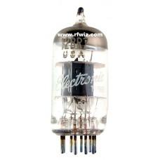12BR7 - GE  High Mu Triode Duo Diode 9-Pin Vintage Miniature Vacuum Tube NOS w/Box