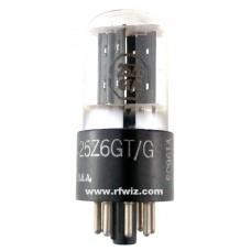 25Z6GT  -  KEN-RAD Rectifier-Doublier 8-Pin Octal Vintage Dual Diode Vacuum Tube PRE-OWNED