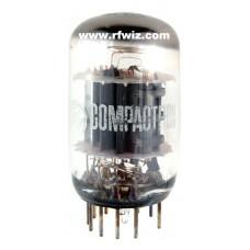 6AS11  - GE Compactron Dual Triode Sharp-Cutoff Pentode Duodecar 12-Pin Vintage Vacuum Tube NOS w/Box
