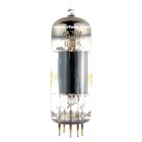 6AW8A - SYLVANIA High-Mu Triode Sharp-Cutoff Pentode 9-Pin Vintage Miniature Vacuum Tube NOS w/Box