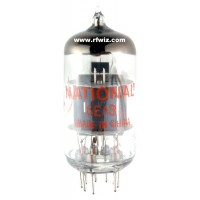 6EA8 - National Sharp Cut Off Pentode Triode 9-Pin Vintage Miniature Vacuum Tube NOS w/Box