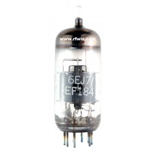 6EJ7 - GE Sharp Cutoff Pentode 9-Pin Vintage Miniature Vacuum Tube (EF184) NOS w/Box
