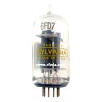 6FD7 - SYLVANIA High-Mu Low-Mu Triode Dual Triode 9-Pin Vintage Miniature Vacuum Tube NOS w/Box