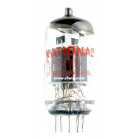 6GH8A  - National Pentode Triode 9-Pin Vintage Miniature Vacuum Tube NOS w/Box