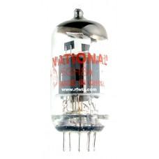 6GH8A  - National Pentode Triode 9-Pin Vintage Miniature Vacuum Tube NOS w/Box