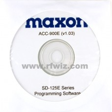 Maxon ACC-900E - SD-125EL Series Programming Software (Wide/Narrow)
