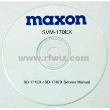 Maxon SVM-1000TPD - TPD-1000 Series DISPLAY DMR Digital Portable Radio Service Manual