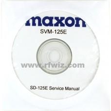 Maxon SVM-125E -SD-125EL/SD-170EL/EX Series Service Manual