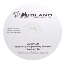 Midland Maxon ACC-916CD - SD-170/160 Series SD-171V /161V SD-174U/164U Programming Software