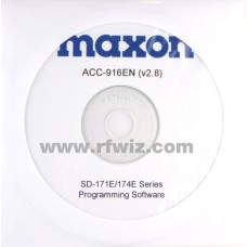 Maxon ACC-916EN - SD-170EL Series Programming Software (Narrow)