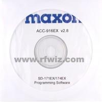 Maxon ACC-916EX - SD-170EX Series Programming Software (W/N)