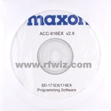 Maxon ACC-916EX - SD-170EX Series Programming Software (W/N)