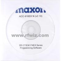 Maxon ACC-916EXN - SD-170EX Series Programming Software (Narrrow)