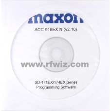 Maxon ACC-916EXN - SD-170EX Series Programming Software (Narrrow)
