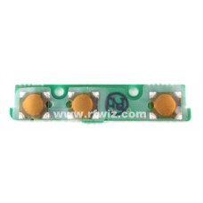 Vertex Standard CB0972001 - PTT Lamp Mon Switch Unit PCB with Components for VX-800 Radio - NOS