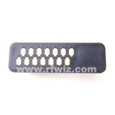 Vertex Standard P1091084A - VX-800 Portable and VX-1200 Manpack Mic Connector - NOS