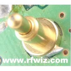 Vertex Standard RA0120500 - VX-10 Gold Battery Contact Pin Spring Connector - NOS