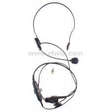 Vertex Standard VH-115M - VX-600 VX-800 VX-900 Breeze Headset PTT Button Speaker Microphone - NOS