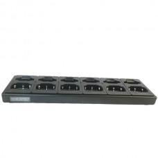Maxon ACC-6006TP - TP-8000 Series 6+6 Unit Dual Slot Gang Charger