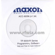 Maxon ACC-805N - TP-8000 Series Programming Software 12.5 kHz (N)