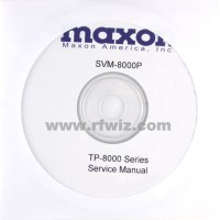 Maxon SVM-8000P - TP-8000 Series Service Manual