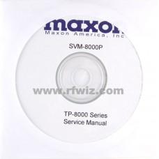 Maxon SVM-8000P - TP-8000 Series Service Manual