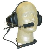 Maxon TA-890X - TP-8000 Series Dual Muff Headset & Cord (2 Pin)