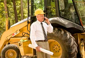 TP-5416 portable radios can grealty improve management in construction by extending communication range of personel and heavy equipment operators