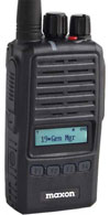 Maxon TA-800LA Dual Slot Rapid Rate Charger is used with the TP-8000 Series Portable Radio