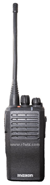 Maxon's TSD-4000 Spartan Series 16 Ch 5/1 Watt DMR Digital/Analog Portable Radio provide reliable communications for greater safety and utility